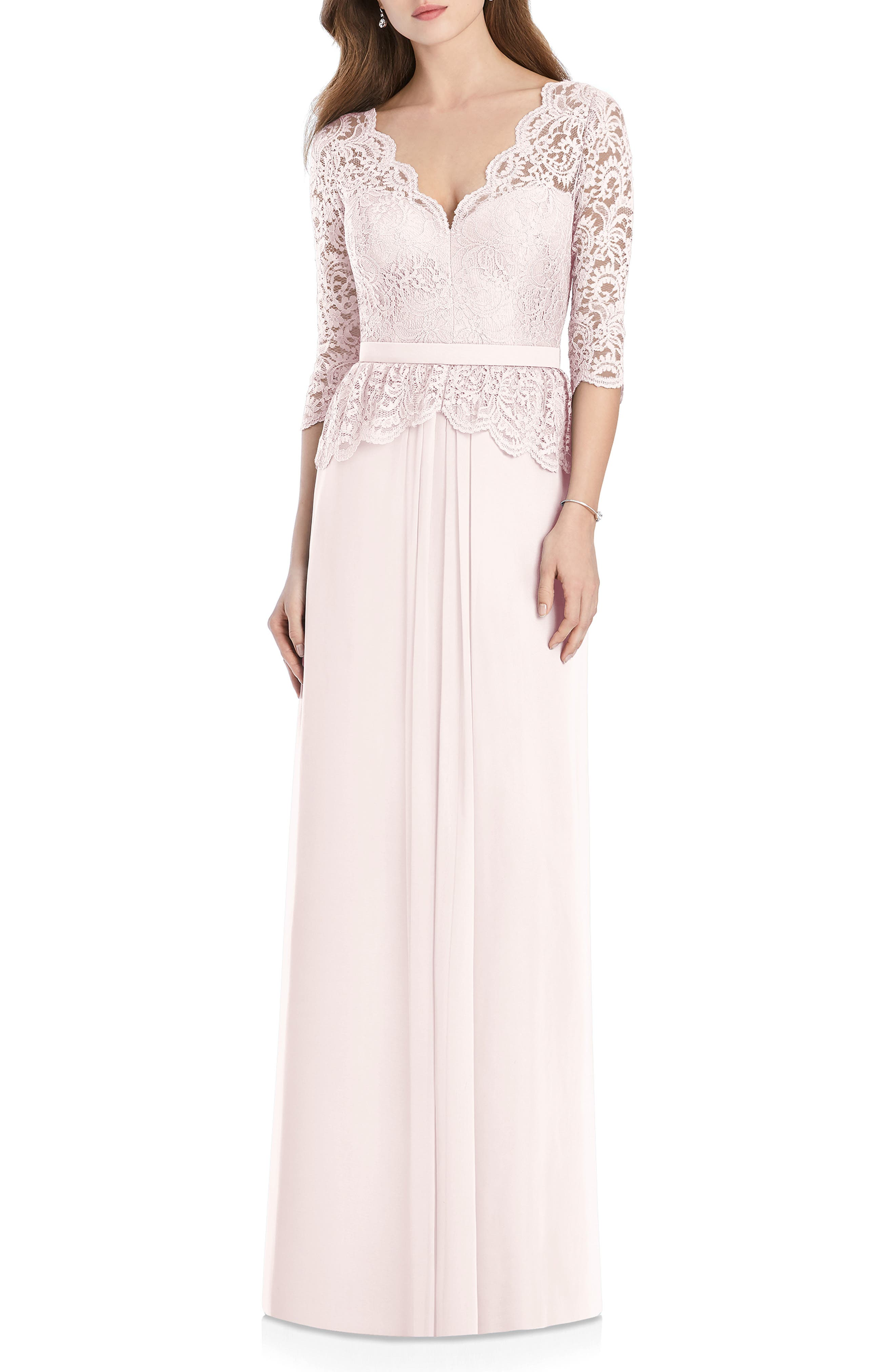LUX CHIFFON GOWN