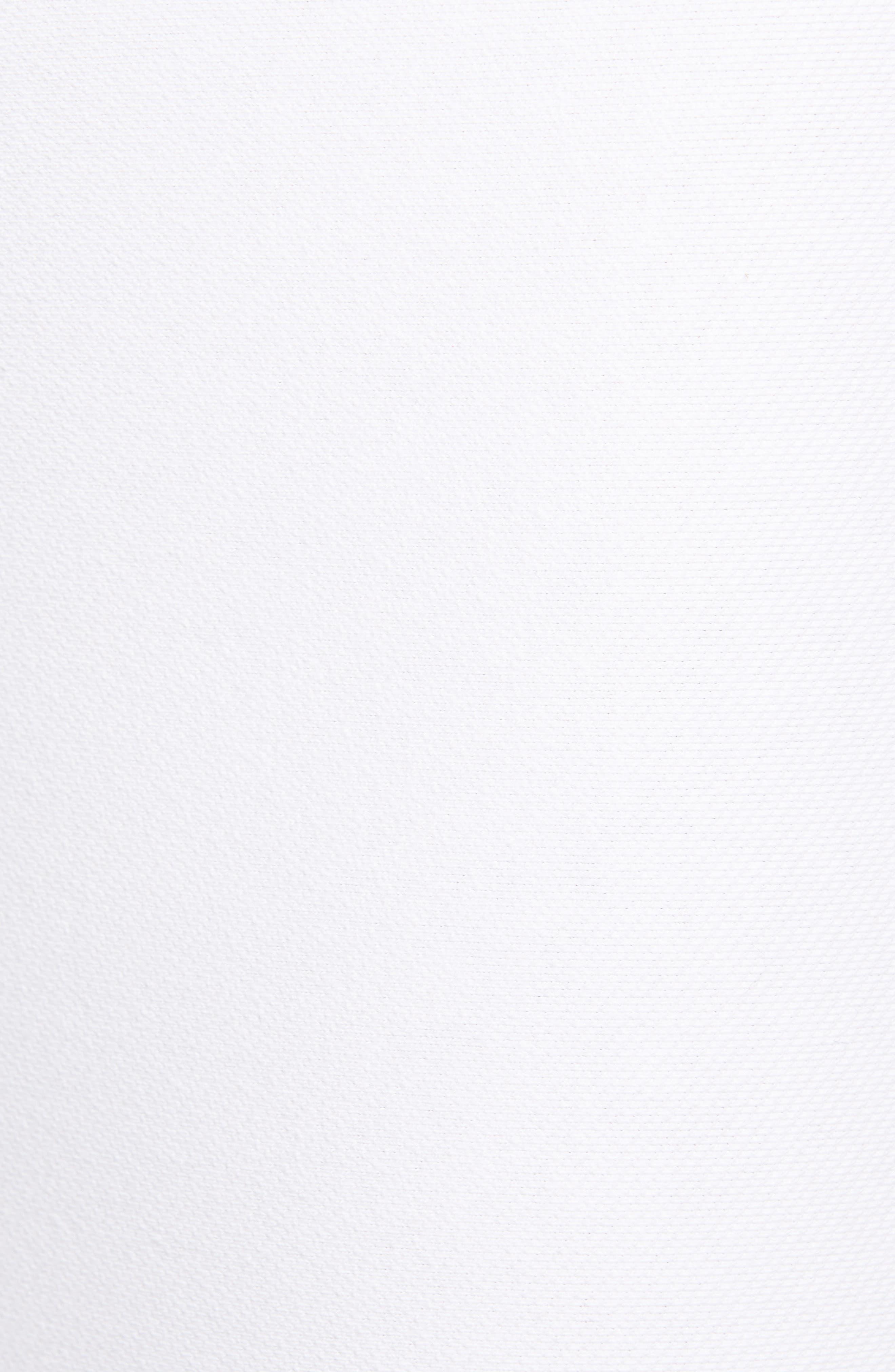 Denim Leggings,                             Alternate thumbnail 3, color,                             White