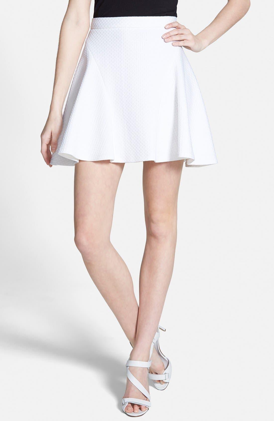 Alternate Image 1 Selected - Rebecca Minkoff 'Jax' Flare Skirt