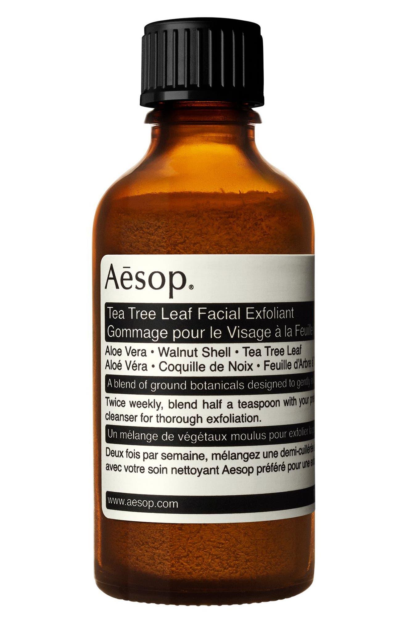 Tea Tree Leaf Facial Exfoliant,                         Main,                         color, None