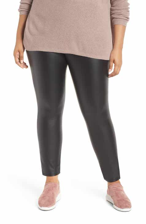 6dfa1c25e76 Lyssé High Rise Faux Leather Leggings (Plus Size)