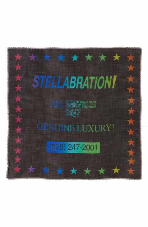 Stella McCartney Stellabration Wool   Silk Scarf 39acbcc714bf2