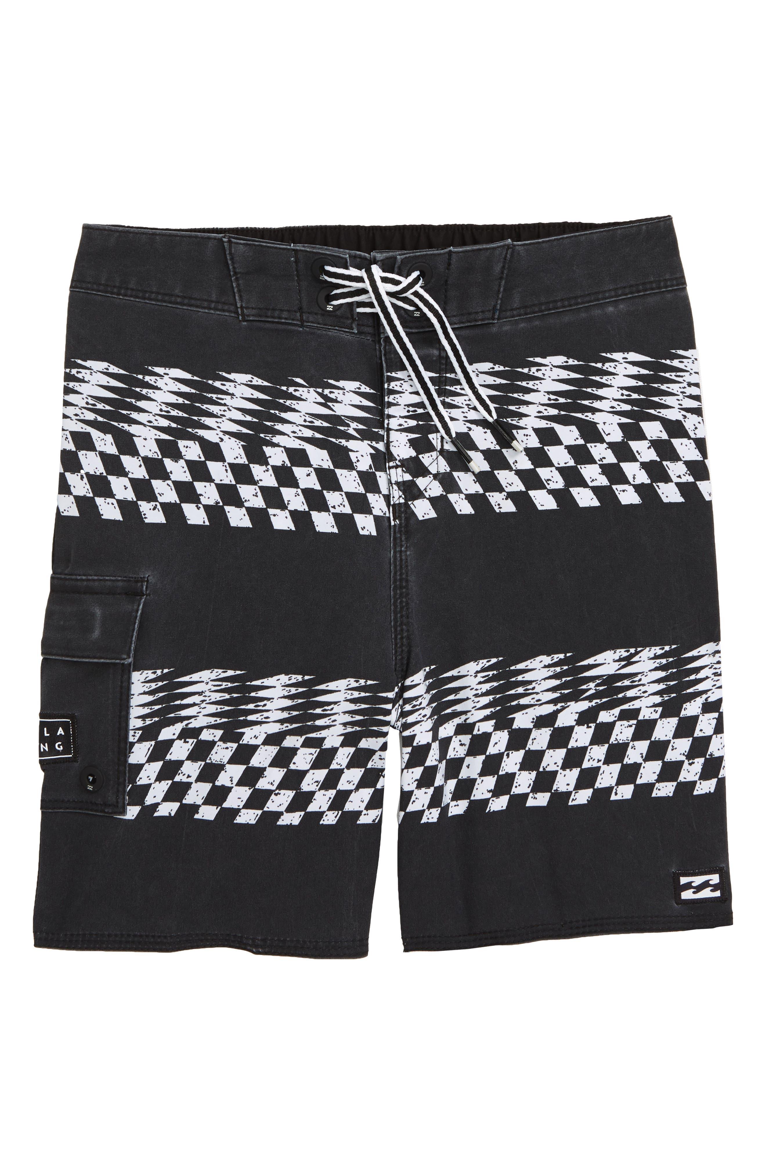Billabong Sundays X Stripe Board Shorts (Big Boys)