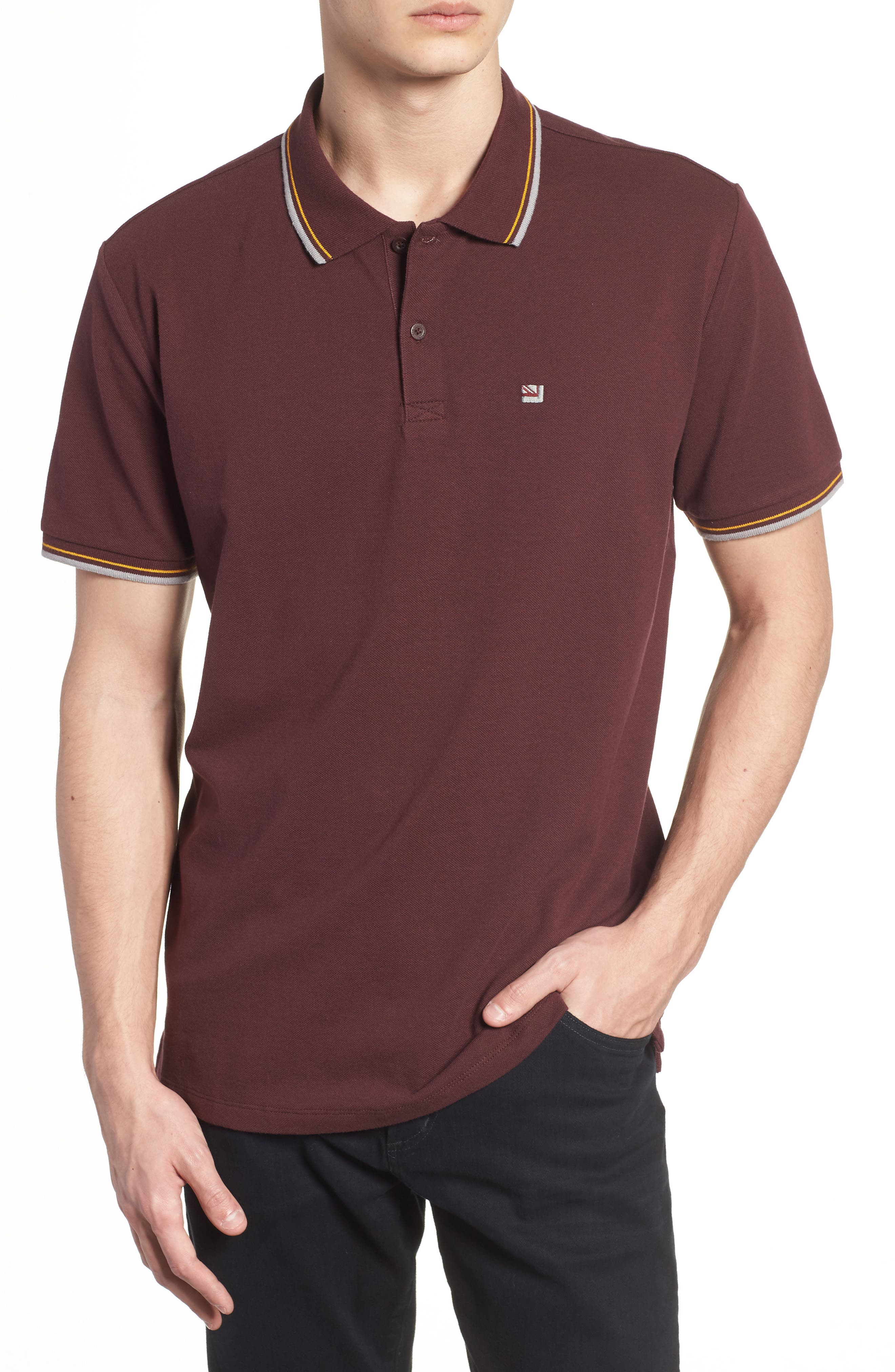 Burgundy Polo Shirts Nordstrom