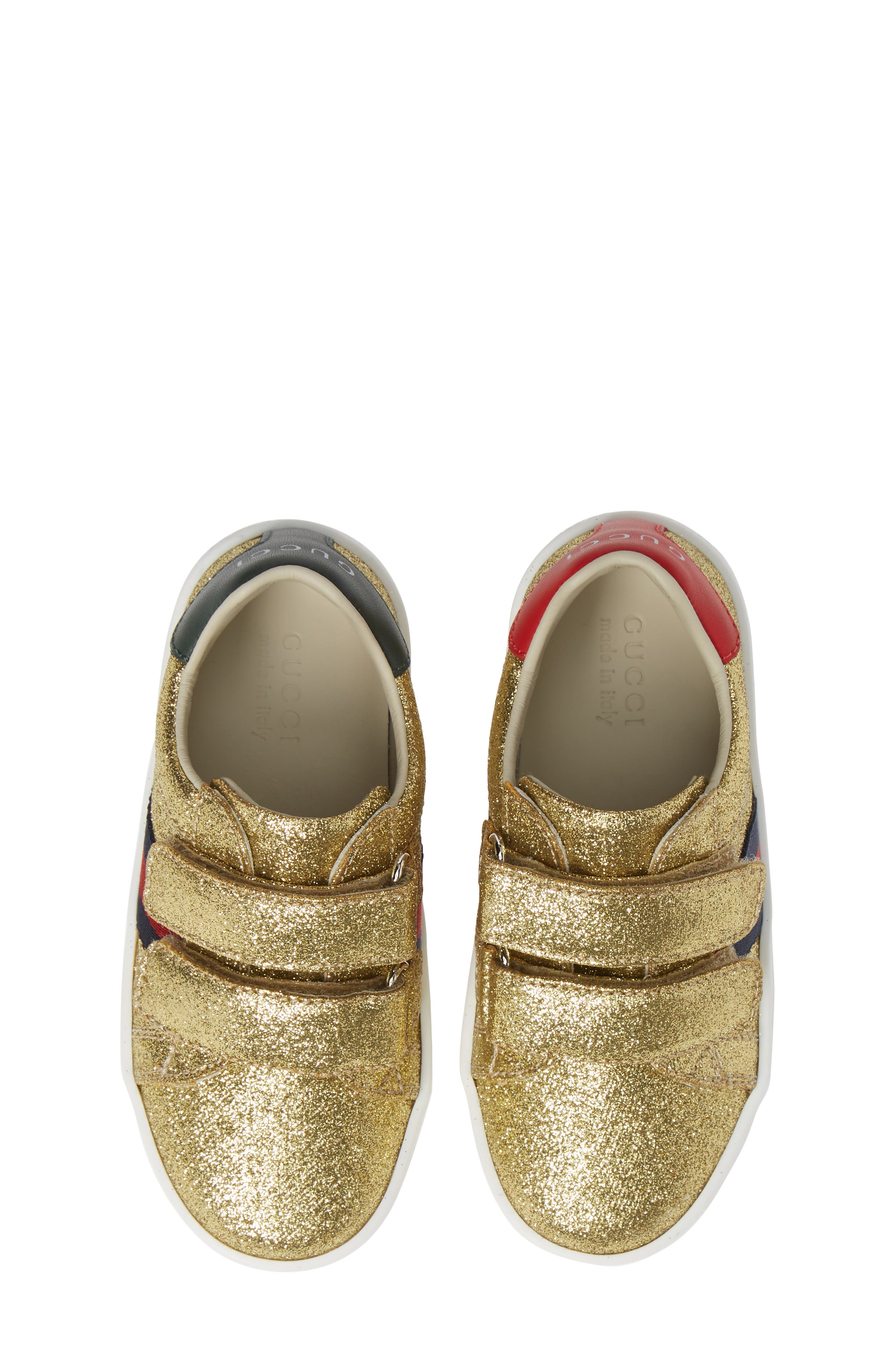 New Ace Sneaker,                         Main,                         color, Metallic Gold
