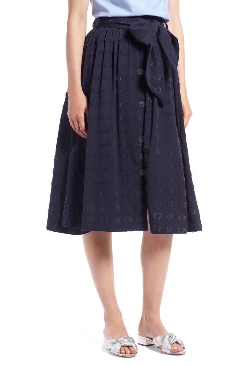 Clip Dot Full Skirt