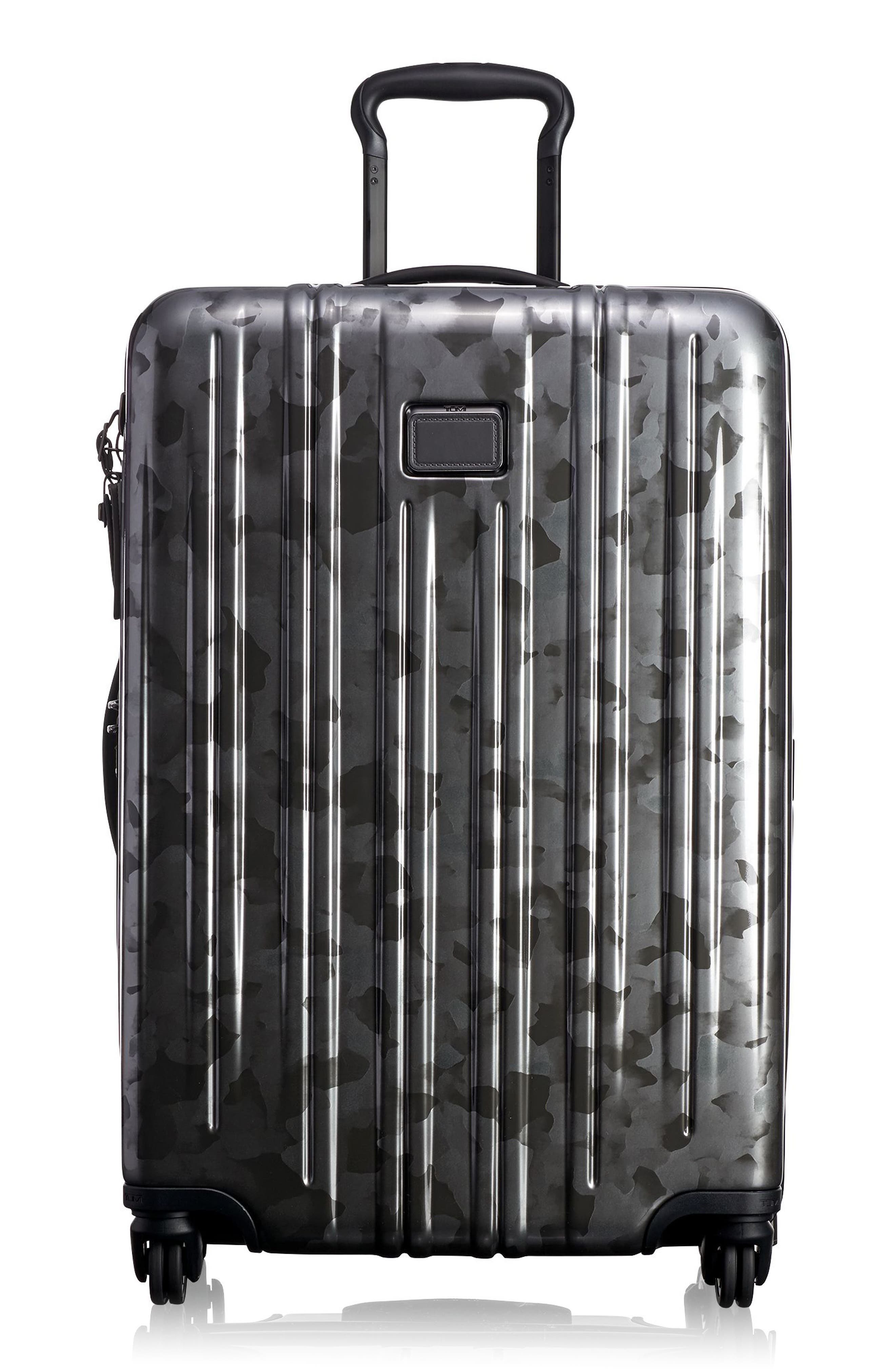 V3 Short Trip 26-Inch Expandable Wheeled Packing Case,                             Main thumbnail 1, color,                             Galvanized Silver