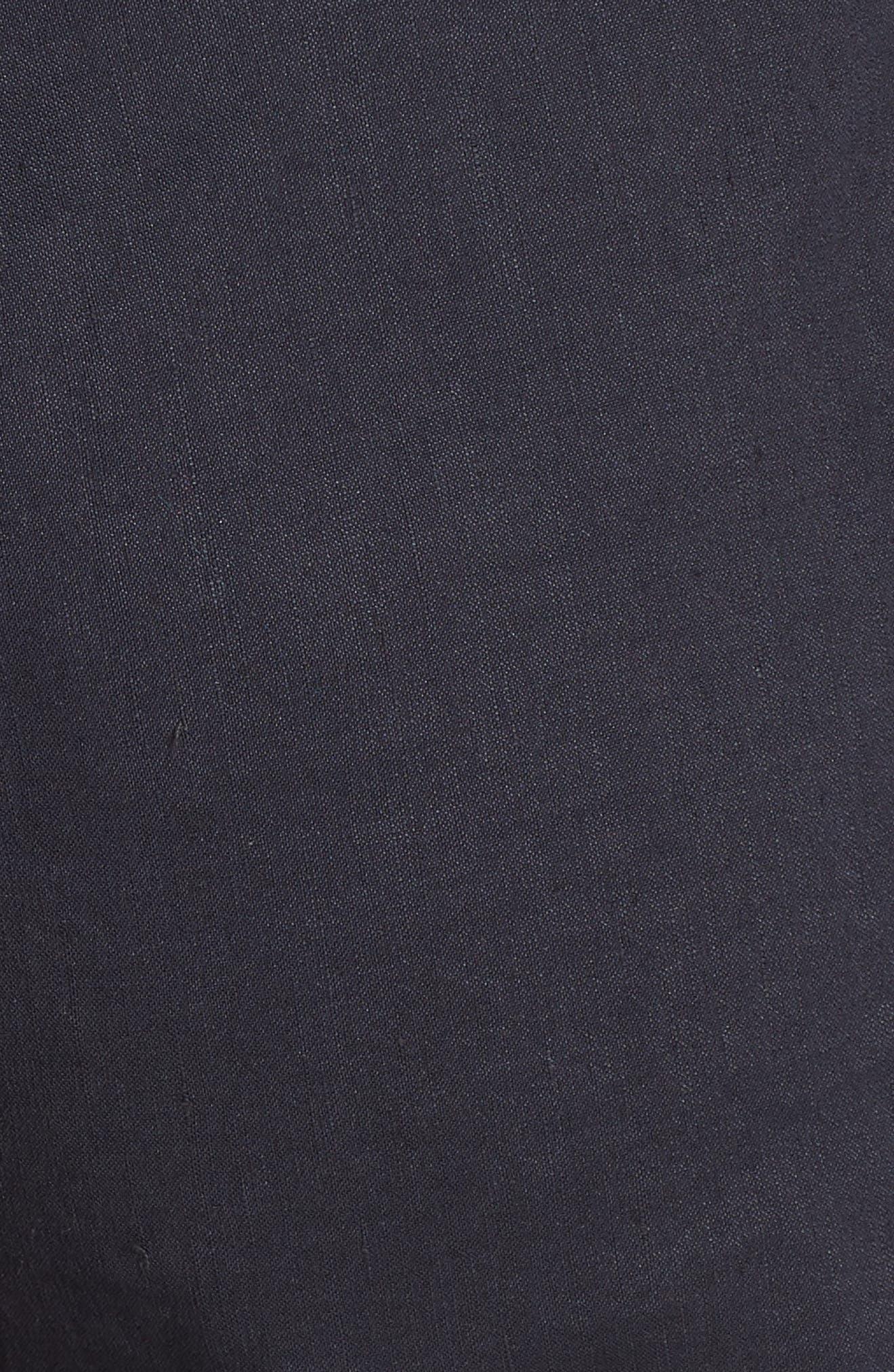 Pull-On Linen Blend Pants,                             Alternate thumbnail 3, color,                             Concord