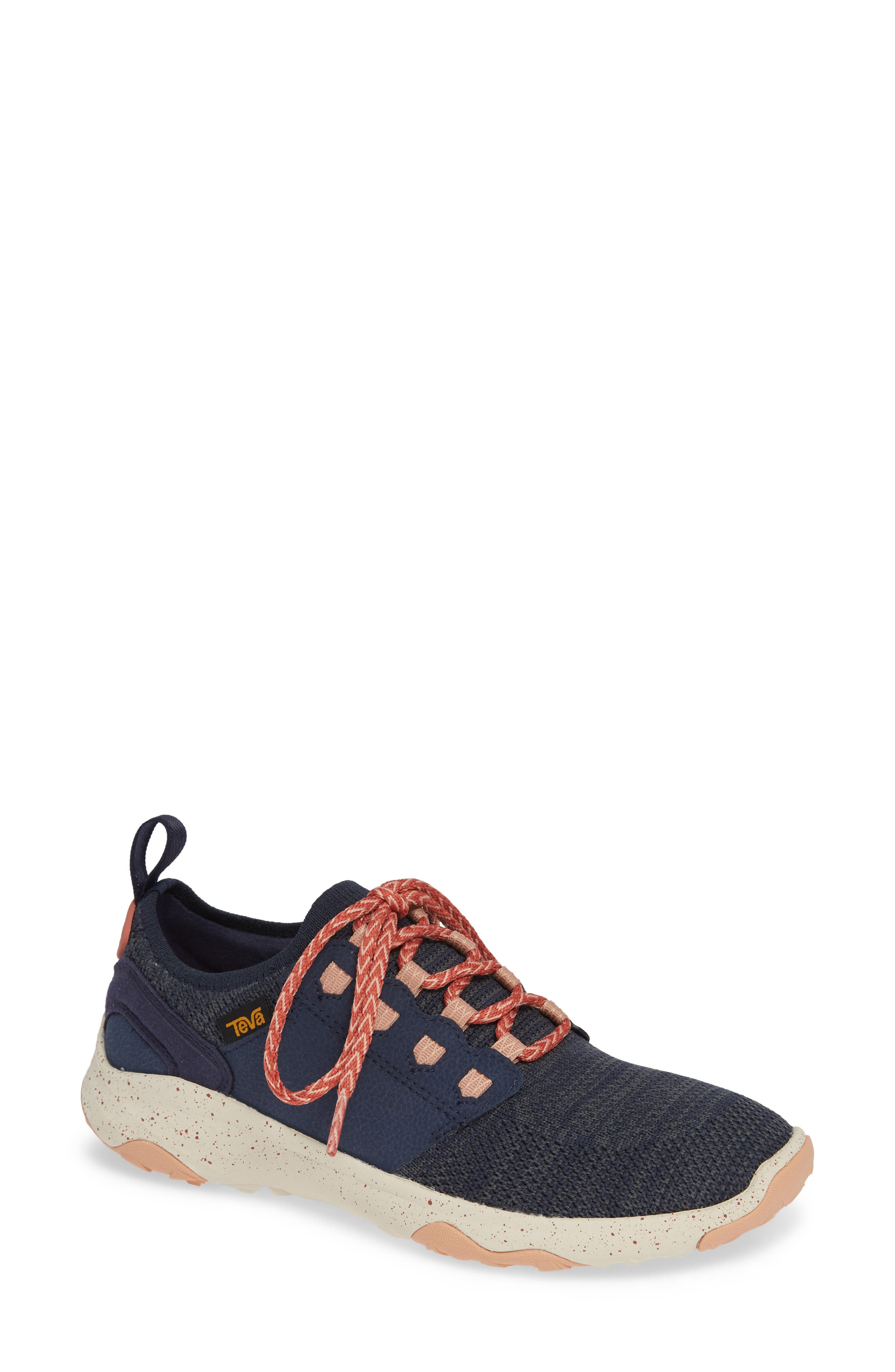 TEVA Arrowood 2 Waterproof Knit Sneaker in Midnight Navy Fabric