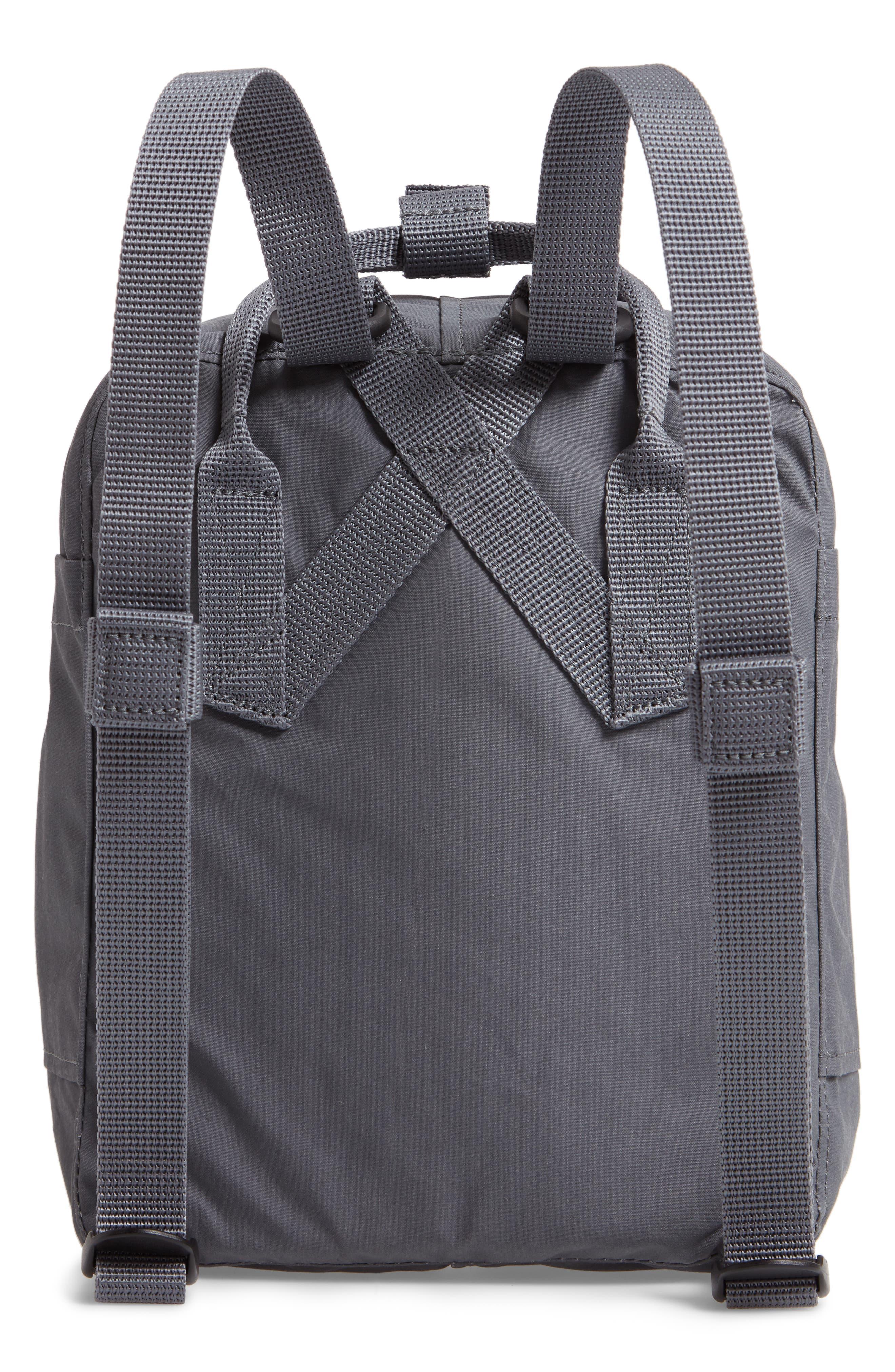 'Mini Kånken' Water Resistant Backpack,                             Alternate thumbnail 5, color,                             Super Grey