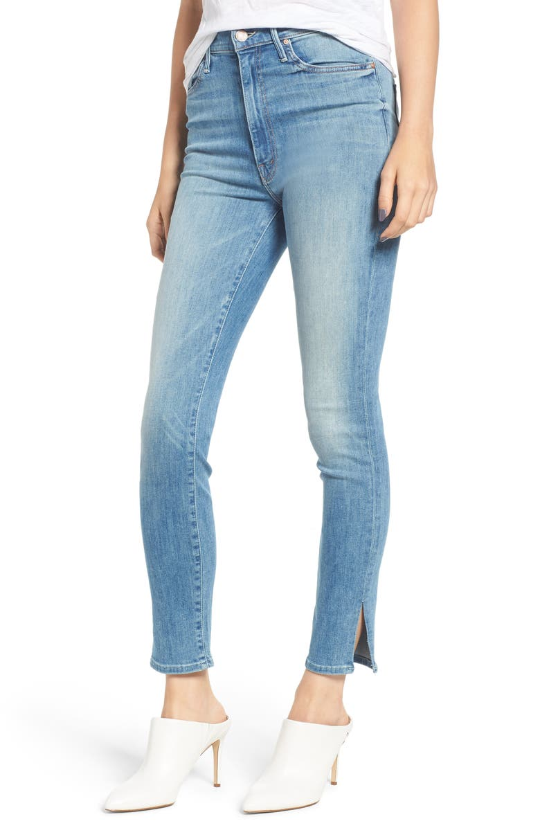 The Swooner High Waist Slice Ankle Skinny Jeans