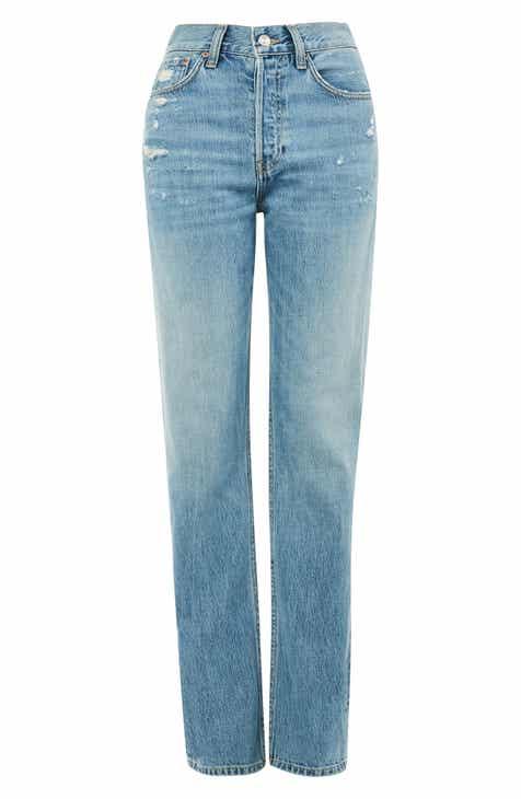 73d61ce4d8fff Topshop MOTO Distressed Boyfriend Nonstretch Jeans