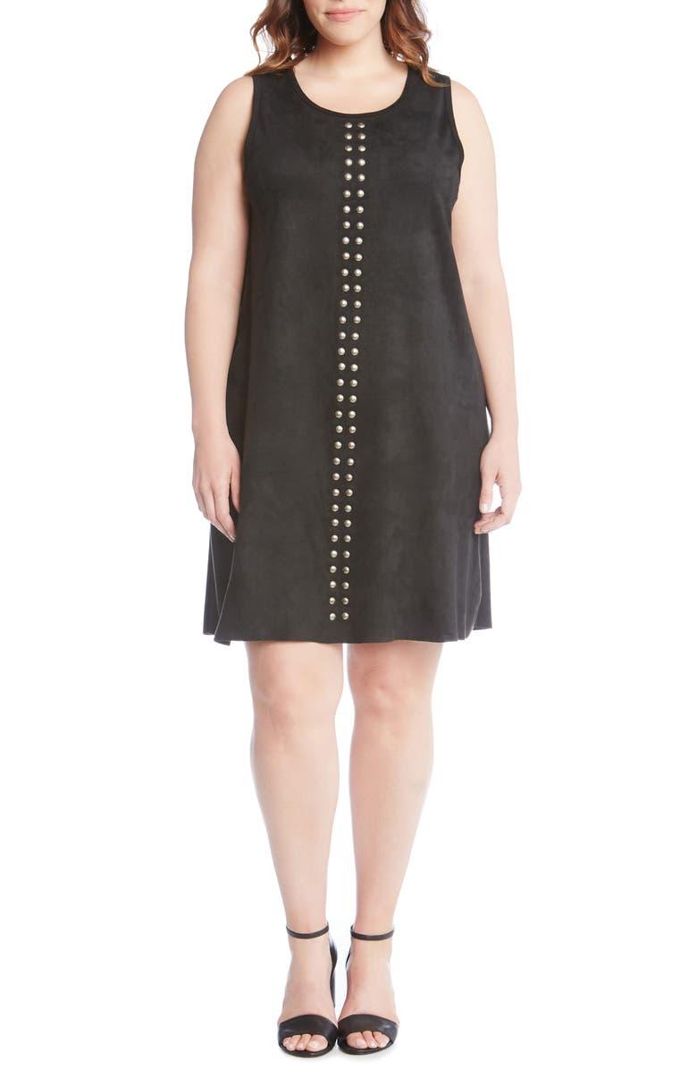Studded A-Line Dress