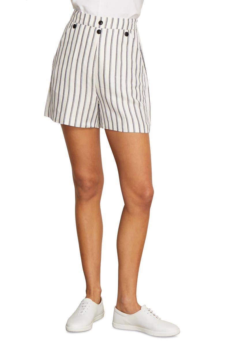Finn Stripe Sailor Shorts