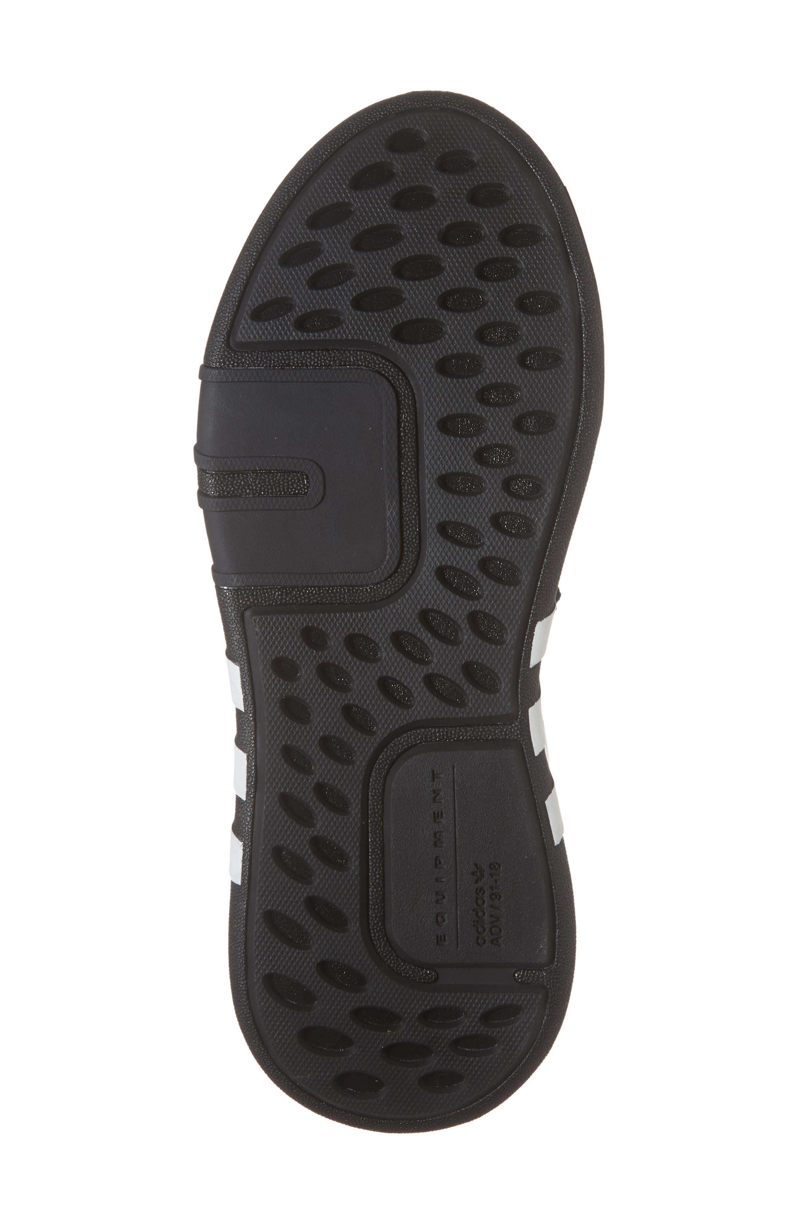 EQT Basketball ADV Sneaker,                             Alternate thumbnail 4, color,                             Black/ White/ Hi-Res Red