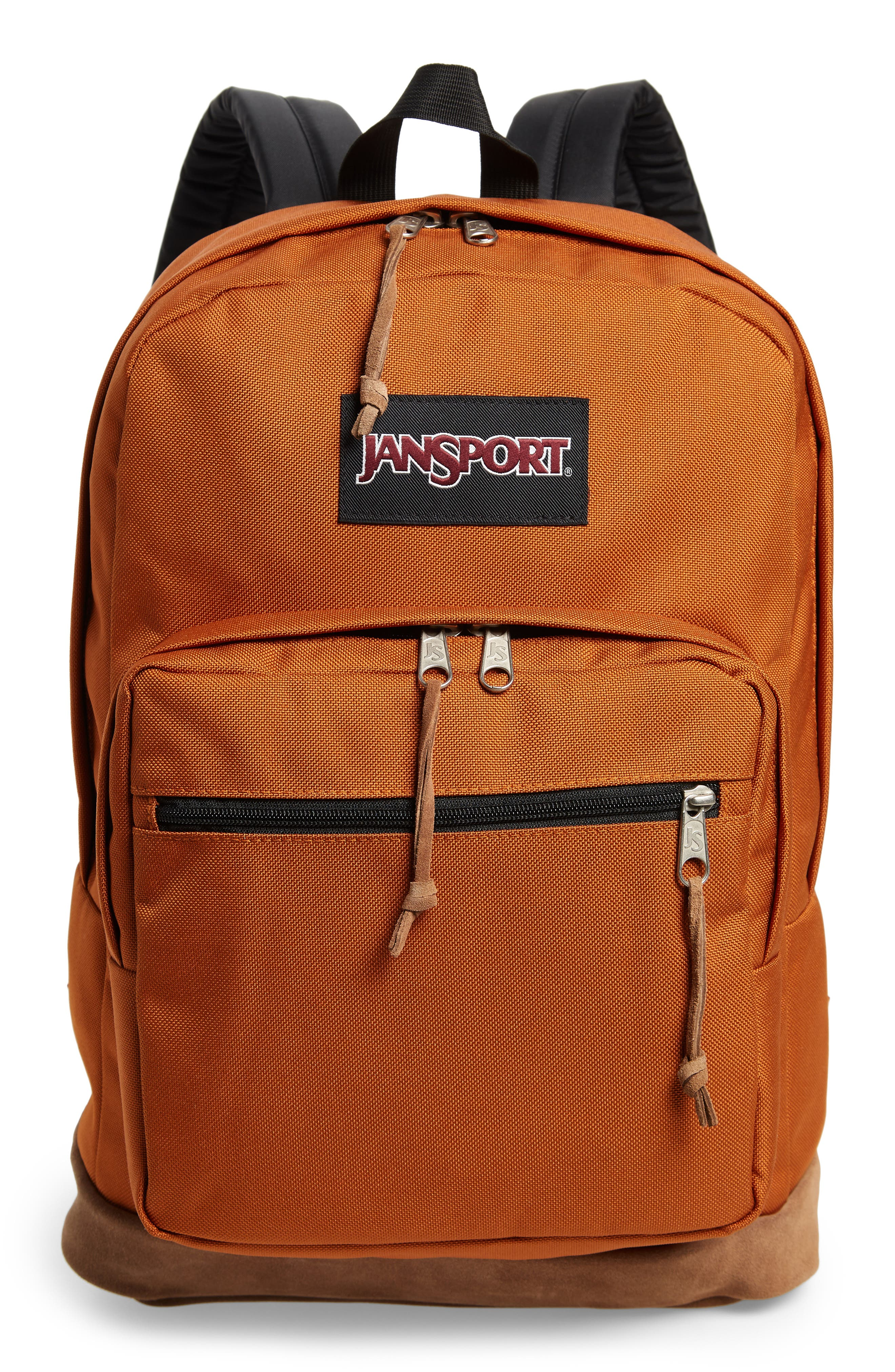 JANSPORT RIGHT PACK BACKPACK - BROWN