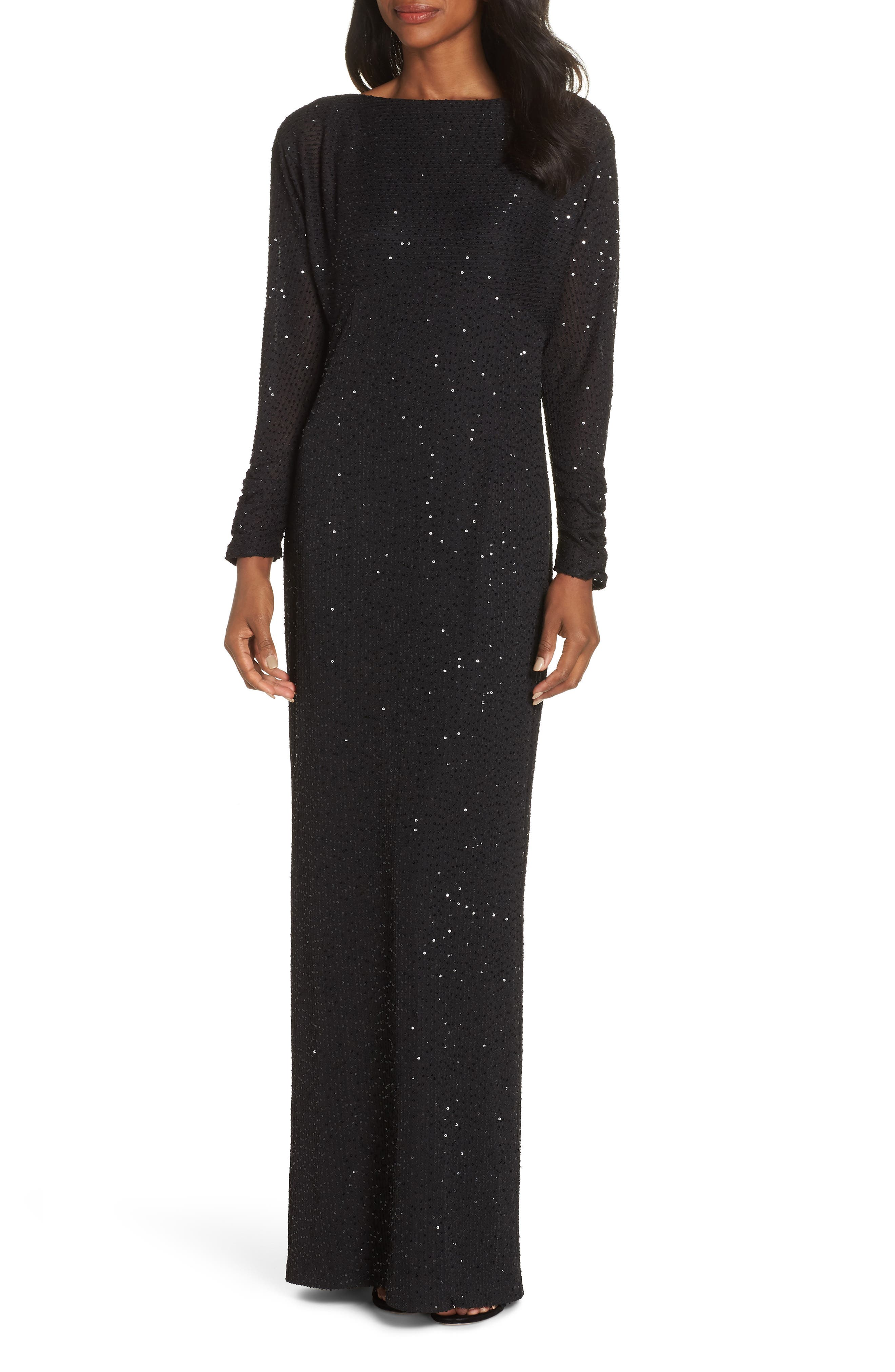 Long Sleeve Gowns