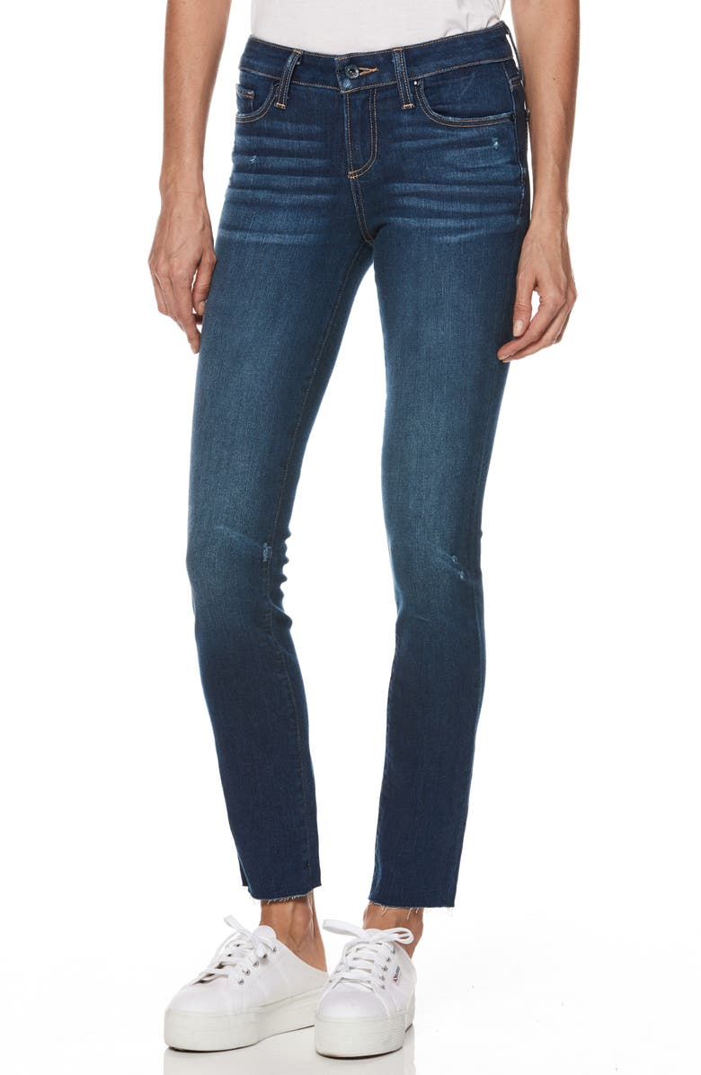 Skyline Transcend Vintage Raw Hem Skinny Jeans
