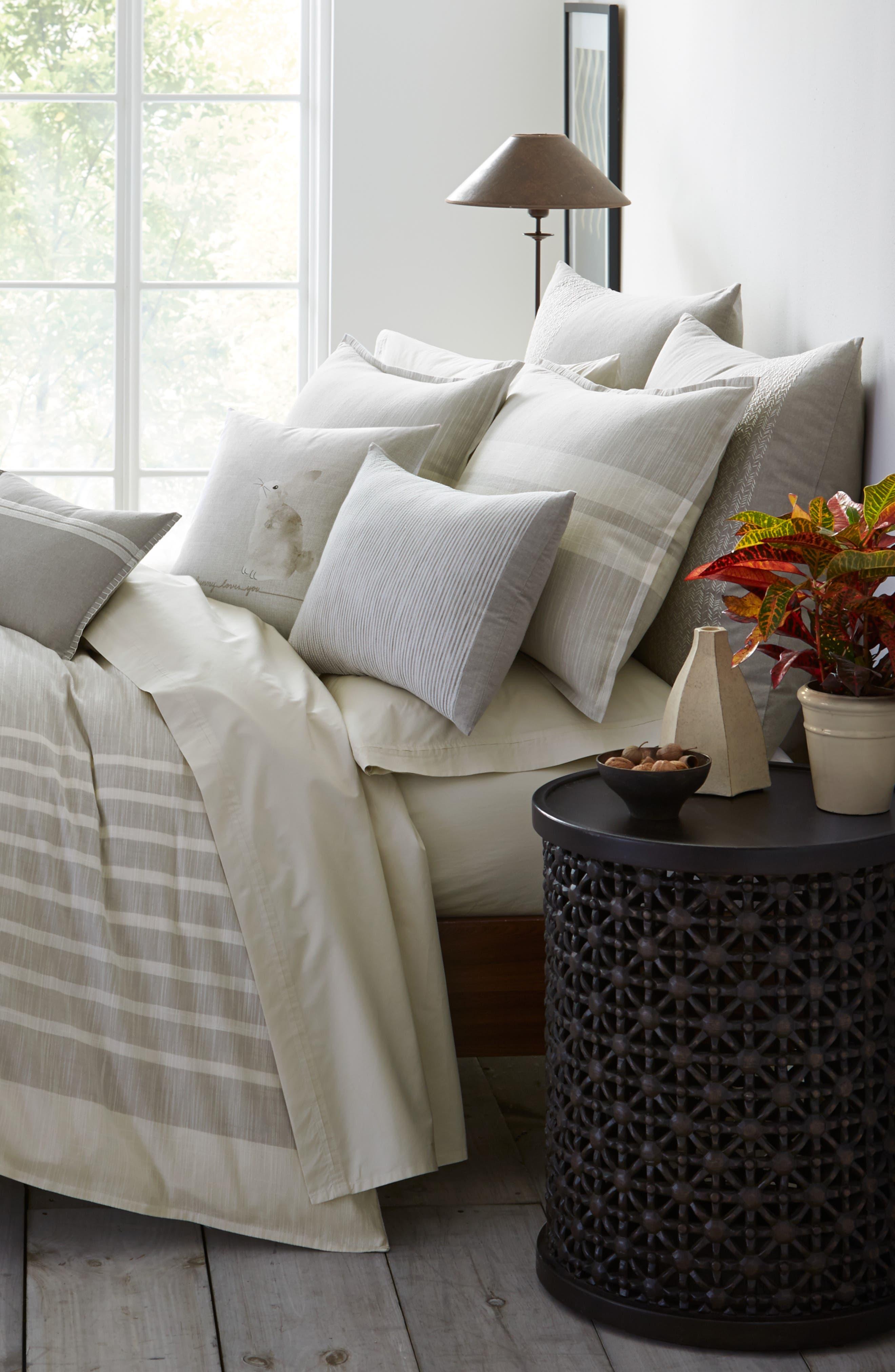 Claremont Comforter & Sham Set,                             Alternate thumbnail 3, color,                             Pastel Grey