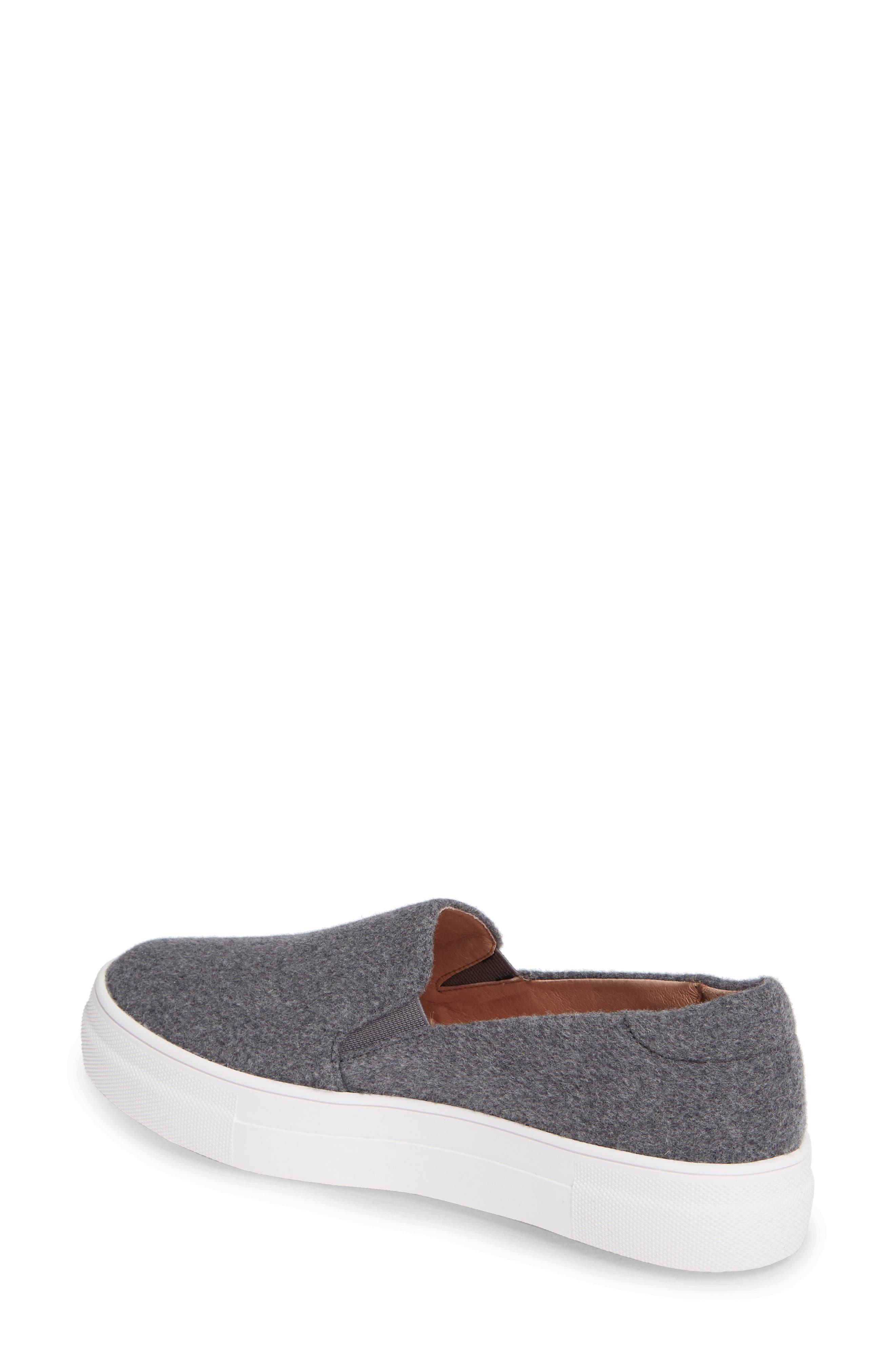Alden Slip-On Sneaker,                             Alternate thumbnail 2, color,                             Stone Boiled Wool