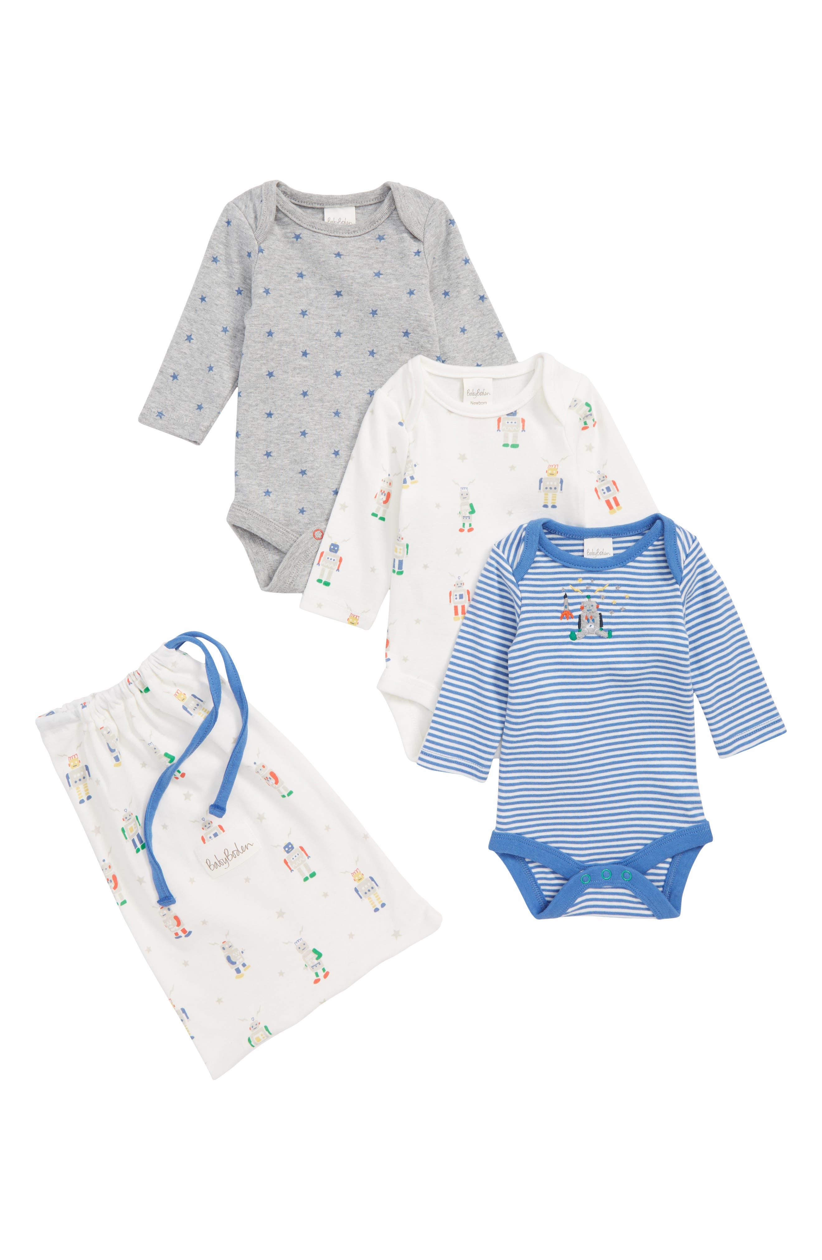 698a0e4cd5ce Mini Boden Baby Boy Blue Clothing  T-Shirts