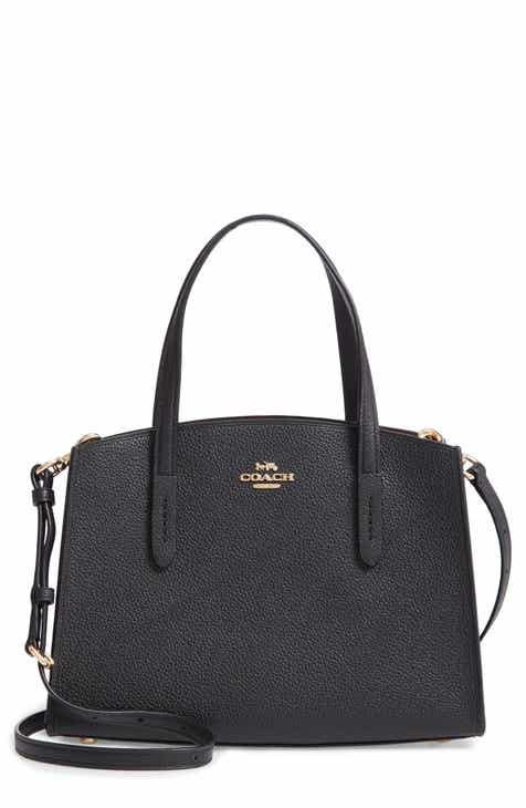 13eddfe516 COACH Charlie Leather Tote
