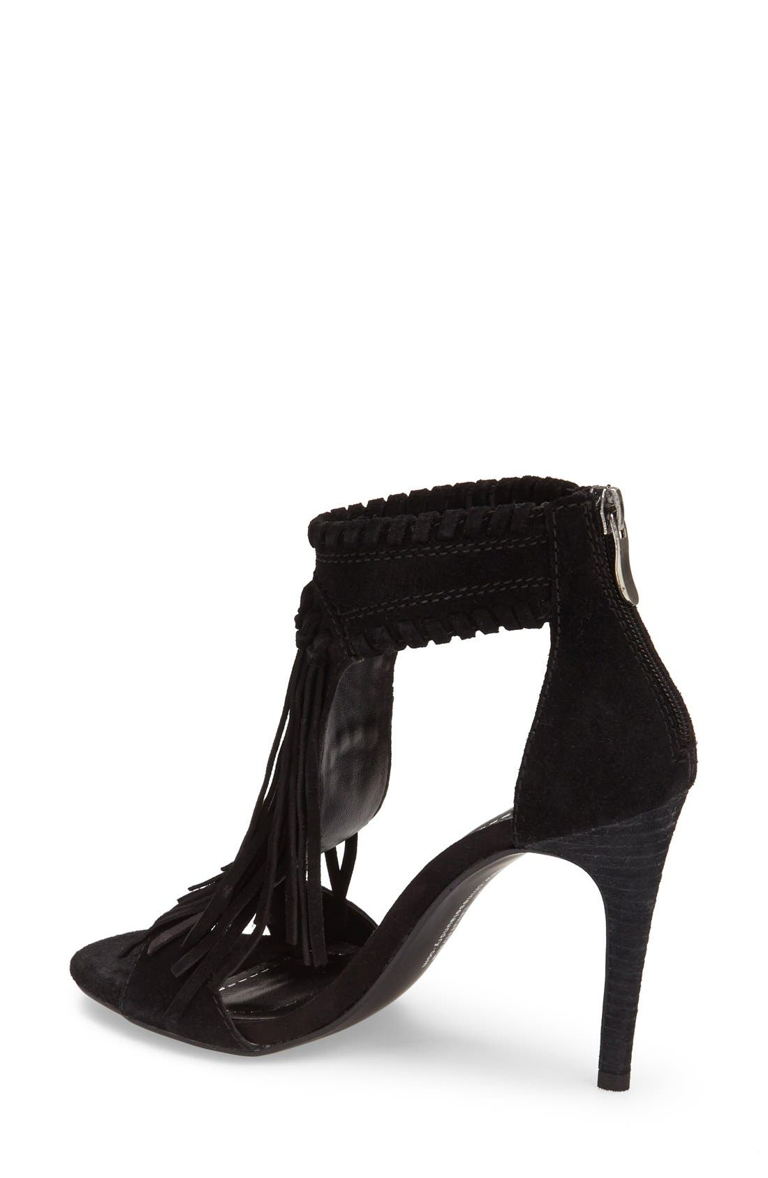 Alternate Image 2  - Chinese Laundry 'Santa Fe' Suede Fringe Sandal (Women)