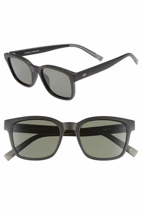89a23966c58 Le Specs Alpha Basic 53mm Rectangular Sunglasses