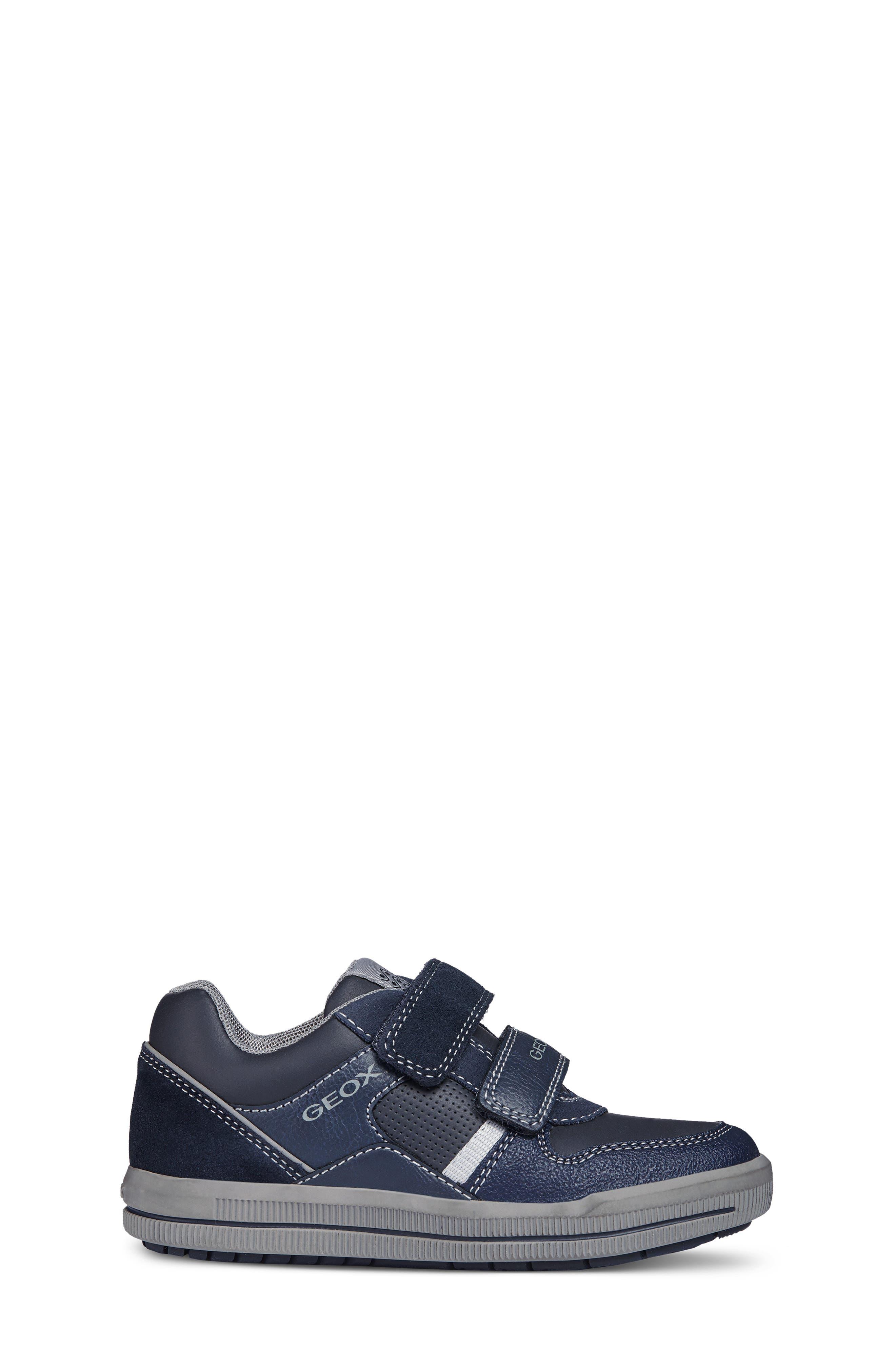 Jr Arzach Sneaker,                             Alternate thumbnail 3, color,                             Navy Blue/ Grey