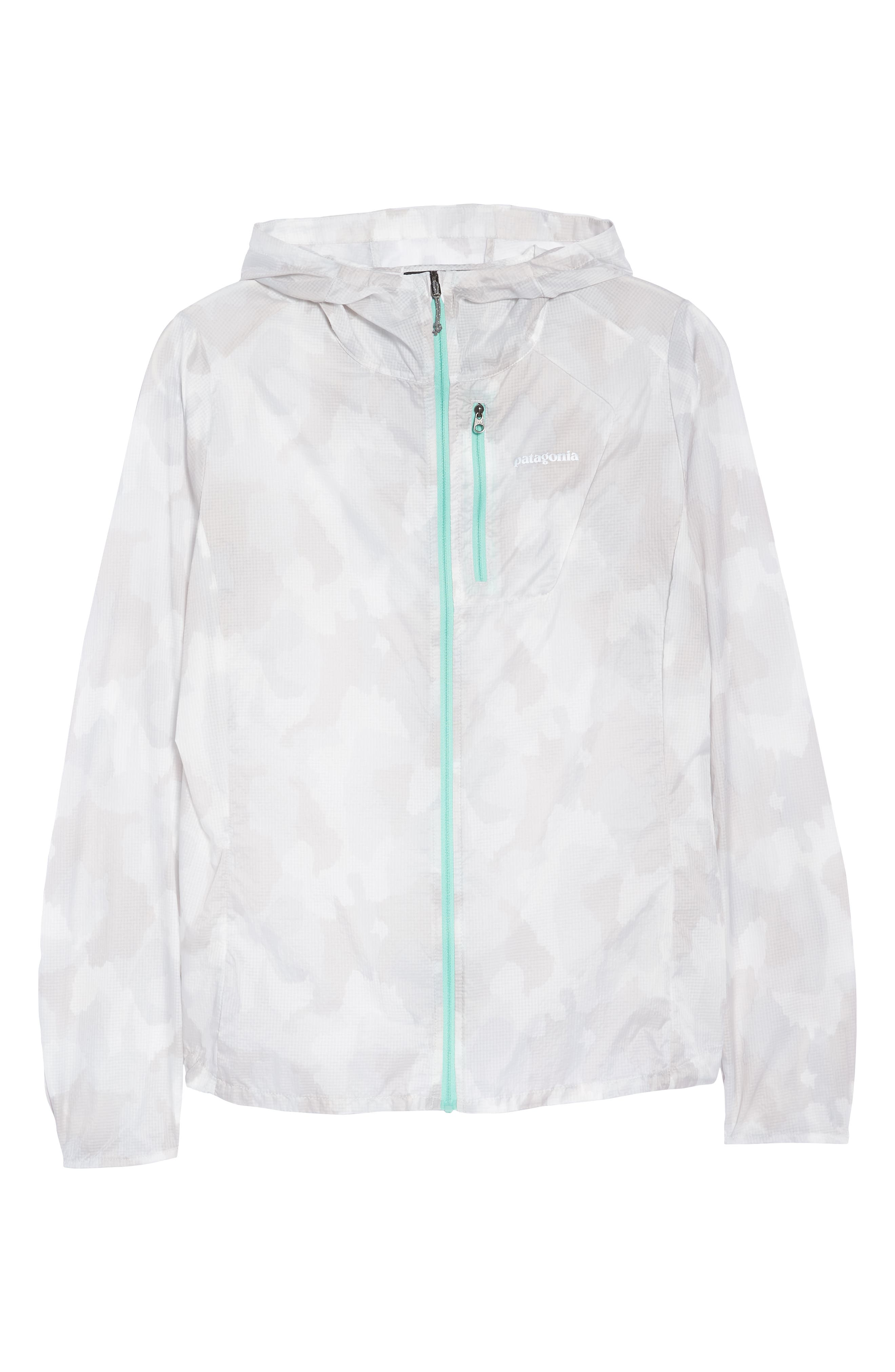 Houdini Water Repellent Jacket,                             Alternate thumbnail 9, color,                             Bunker Camo Tailored Grey