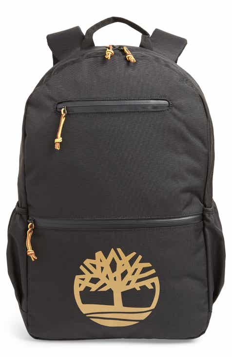cfe0bfa537b Timberland Logo Graphic Water Resistant Backpack