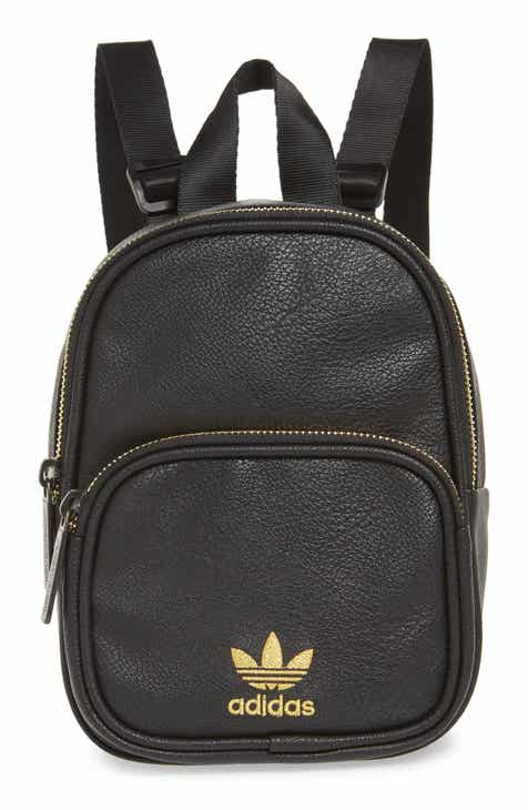 4b50d1626e8 adidas Originals Mini Faux Leather Backpack