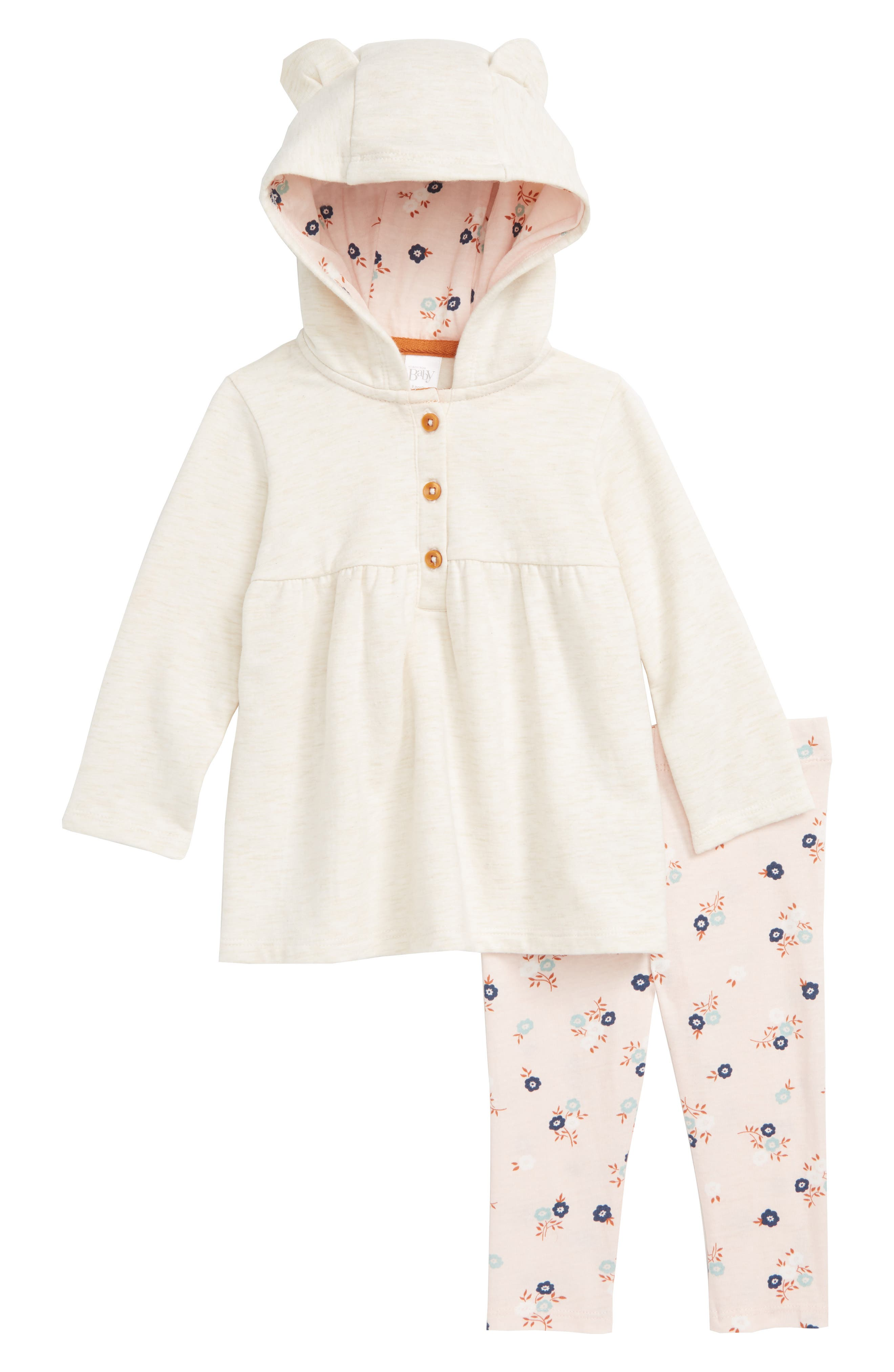 b6388acec0 Baby Unisex Hooded Dressing Gown White Moon and Star Design Dream Big  Little One