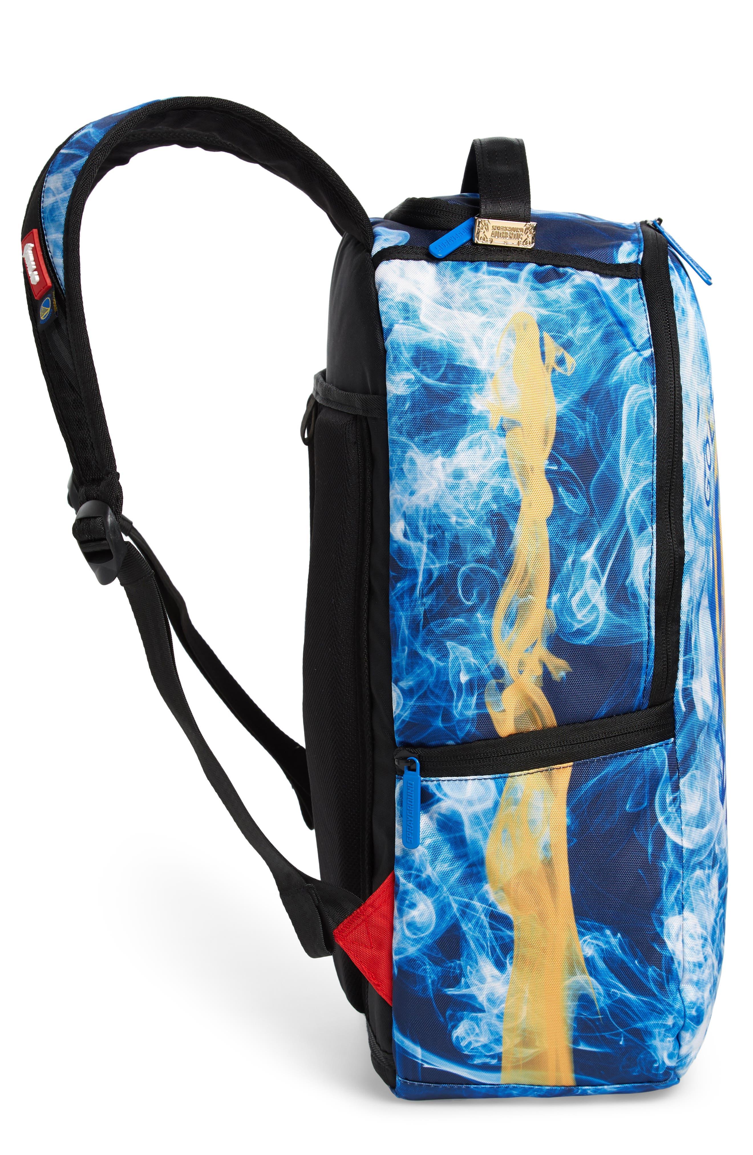 Golden State Smoke Backpack,                             Alternate thumbnail 5, color,                             Blue