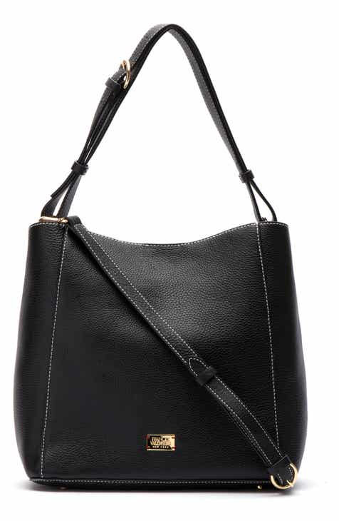 50bb664cbdac5 Frances Valentine Medium June Leather Hobo