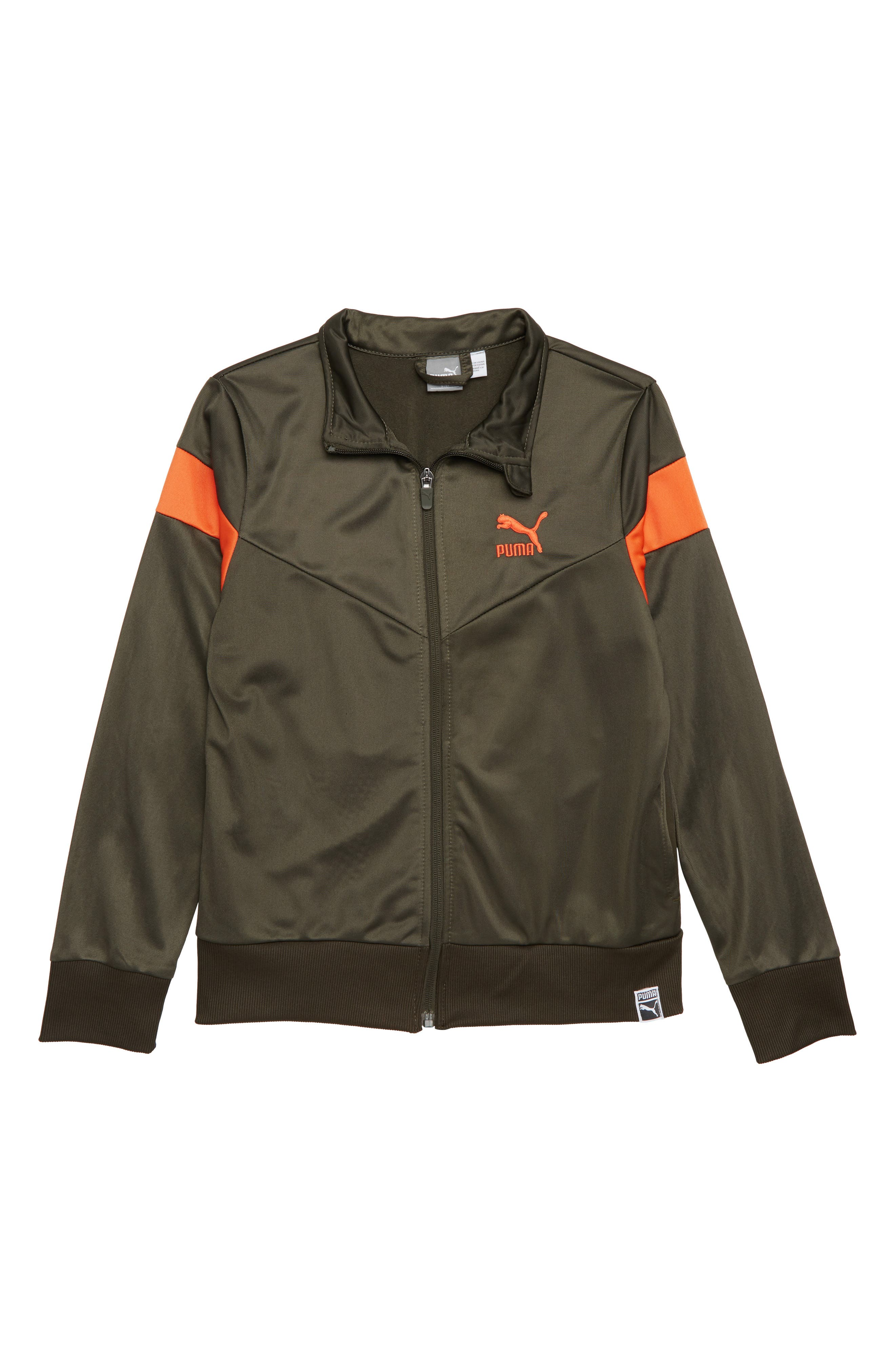 Tricot Track Jacket,                         Main,                         color, Forest Night