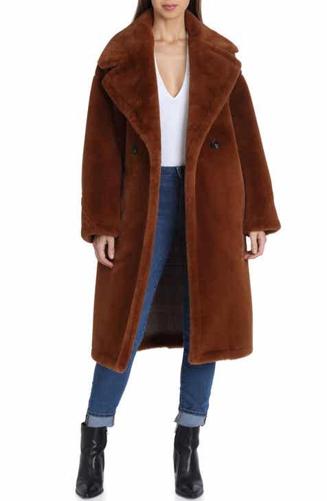 dffee9b525e Women s Regular (XS-XL   0-16) Fur   Faux Fur Coats