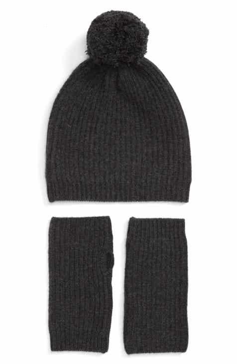 Halogen® Cashmere Coordinates Hat   Arm Warmer Set b3f7b3378dfe