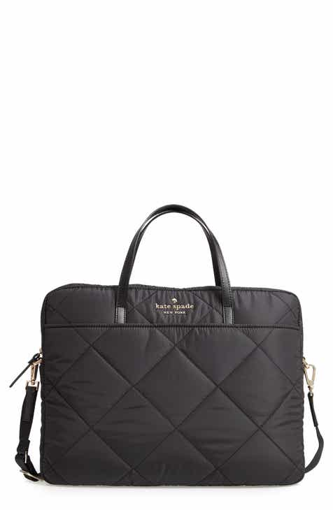 Kate Spade New York Quilted Nylon Universal Laptop Commuter Bag