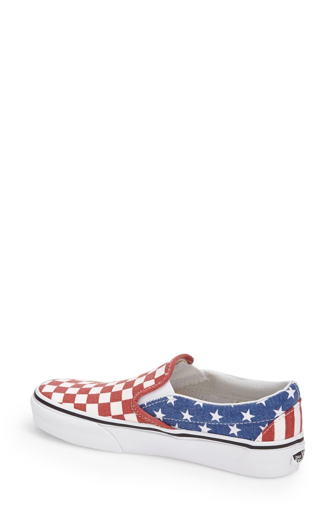 Alternate Image 2  - Vans 'Van Doren' Slip-On Sneaker (Women)