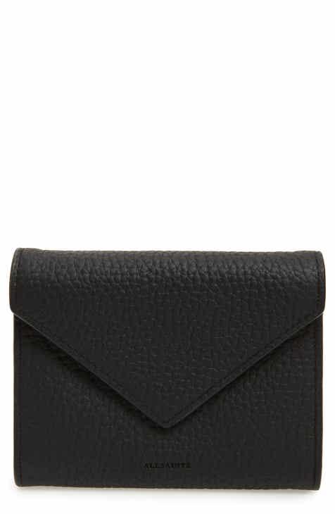 Card cases wallets card cases for women nordstrom allsaints voltaire envelope leather card case colourmoves