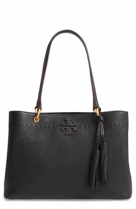 5ac08c17c9c Tory Burch McGraw Triple Compartment Leather Satchel