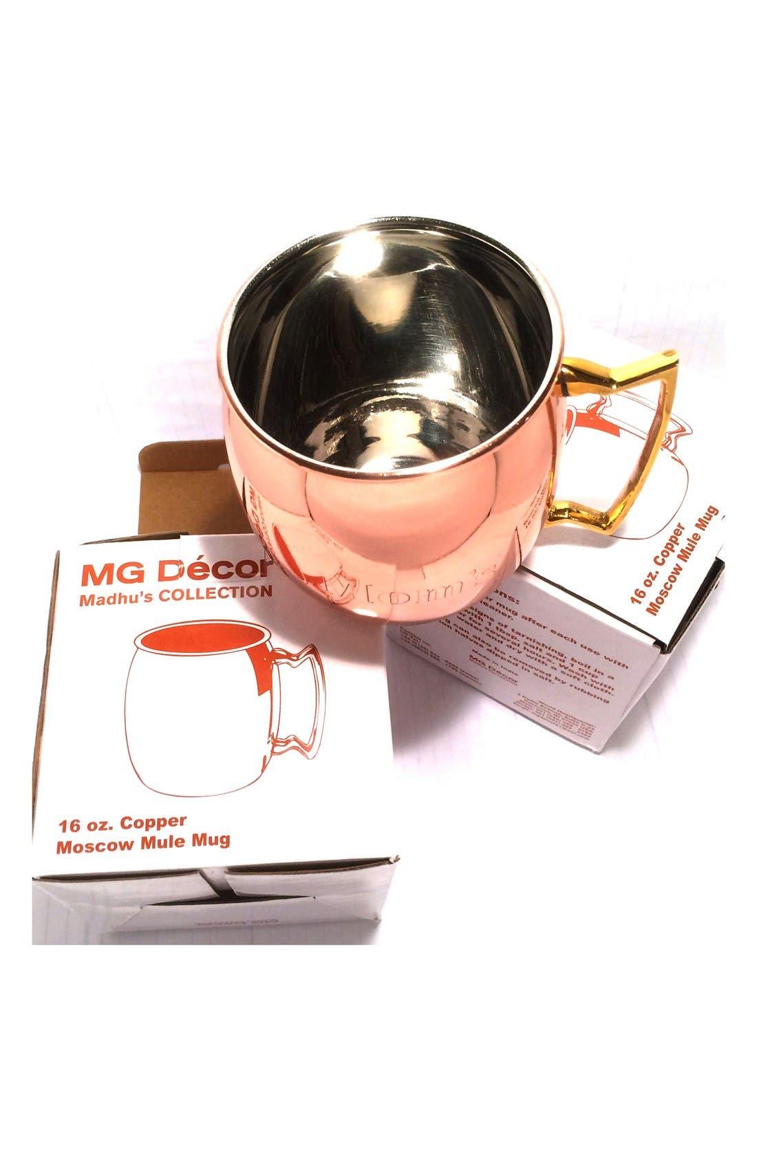 Alternate Image 2  - MG Décor 'Mom's' Copper Mug