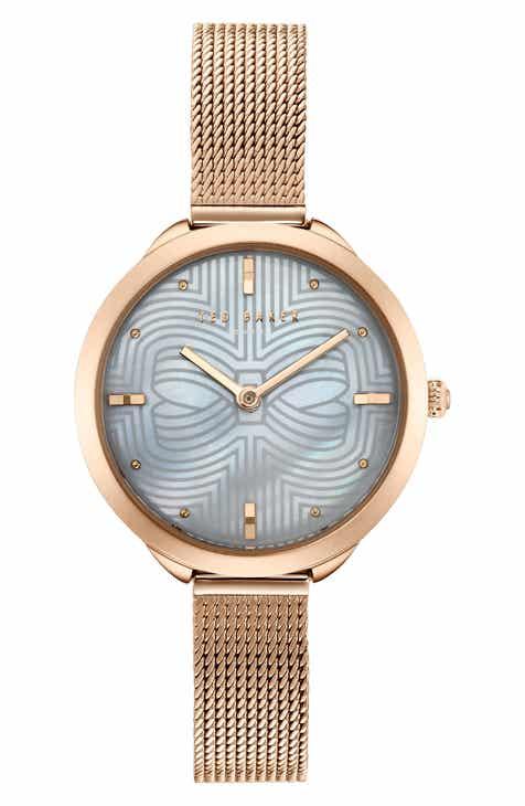 5f543a7b6ae85 Ted Baker London Elena Mesh Strap Watch