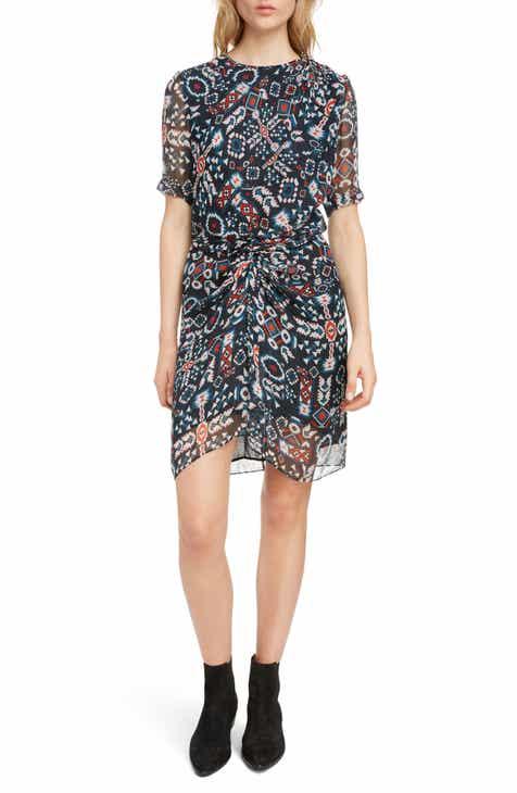 8c56d519469 Isabel Marant Étoile Barden Print Silk Dress