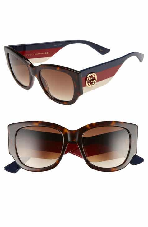 5b573243000 Gucci 53mm Cat Eye Sunglasses