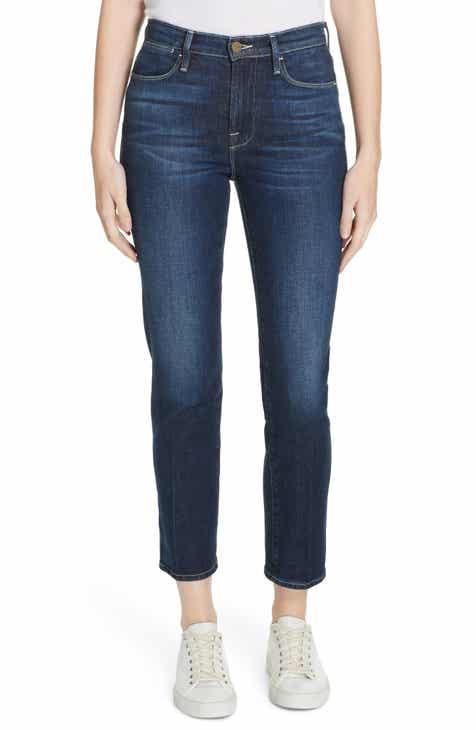 098fd214be FRAME Le High Straight Leg Jeans (Emmanuelle)