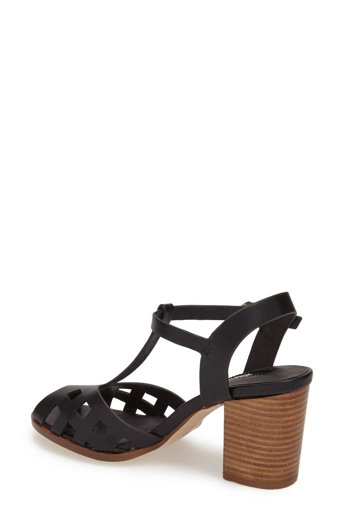 Alternate Image 2  - Topshop 'Newlywed' T-Strap Peep Toe Sandal (Women)