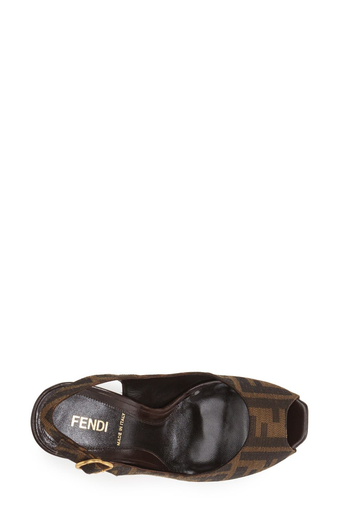 Alternate Image 3  - Fendi 'The Fendista' Platform Pump
