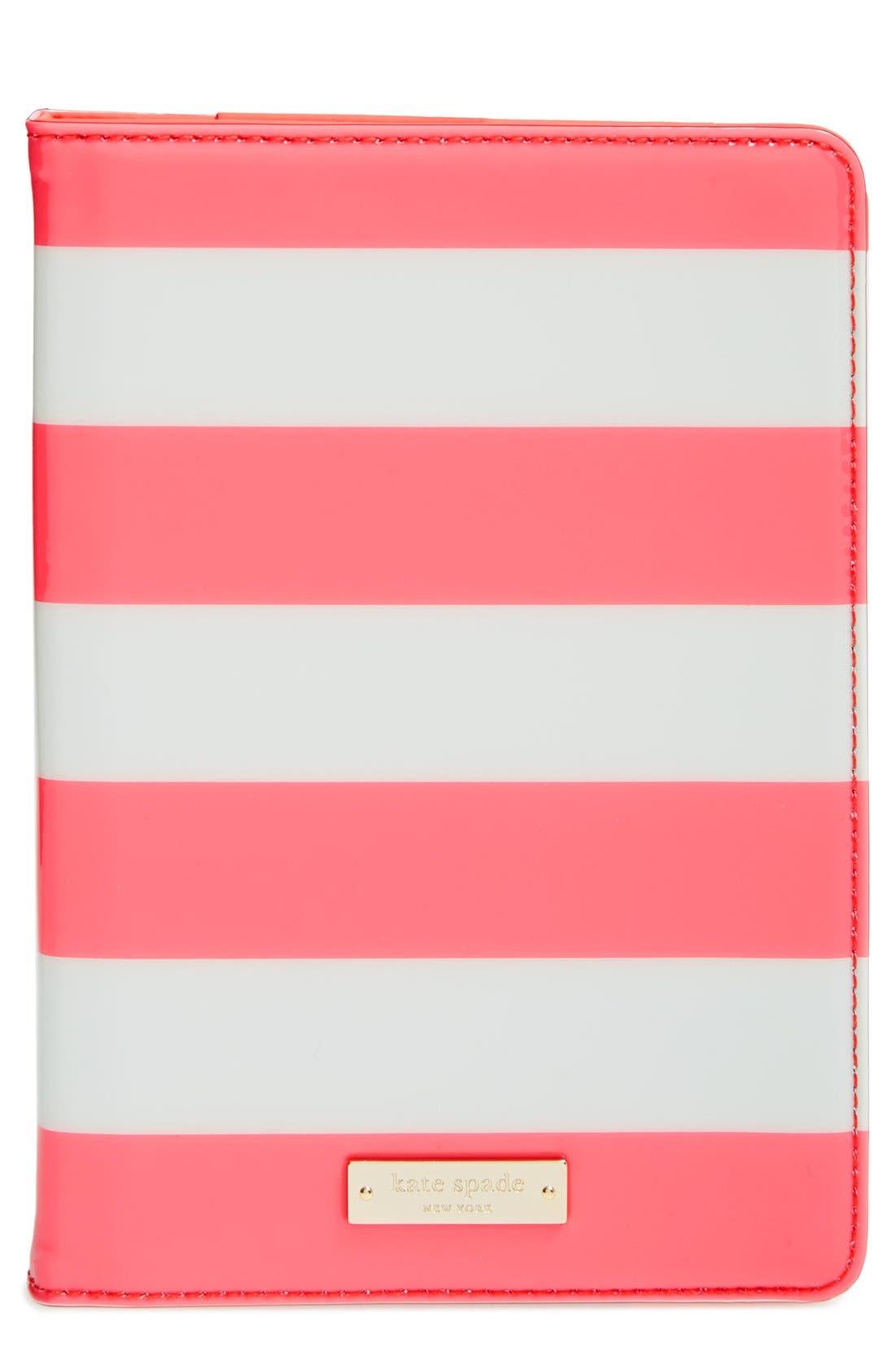 Alternate Image 1 Selected - kate spade new york 'fairmont square' iPad mini hardcase folio